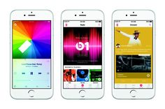 Apple debuted Apple Music and kicked off its Beats 1 radio station on Monday in a launch that proceeded smoothly. Now that Apple Music is available to iOS device owners with iOS or desktop owners with iTunes weaaa Iphone 5s, Iphone Headset, Apple Iphone, Ipad Mini, Apple Service, Reading Music, Music App, Music Radio, Win Music