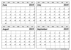 – All 12 Month Calendar May June July August Calendar – Holidays Calendar Template June 2019 Calendar, Calendar 2019 Printable, 12 Month Calendar, Monthly Calendar Template, Print Calendar, Calendar Ideas, Calendar Printing, Printables, Templates