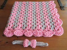 zigzag afghan pattern crochet blanket - Free Crochet Patterns