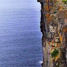 Daredevil Cliffs, Inishmore coastline, Aran Islands, Ireland, acantilado en Irlanda.