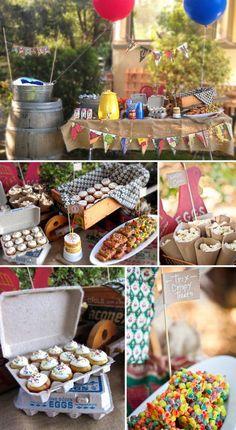 Summer Farmer's Market Birthday Party