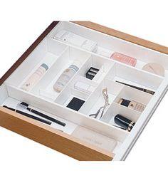 Makeup drawer organizer