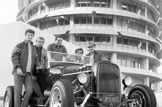 004 1929 Ford Model A With The Beach Boys