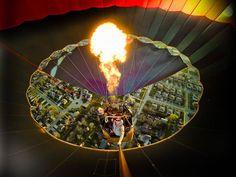 Foto del Día: Dentro de un globo de aire caliente