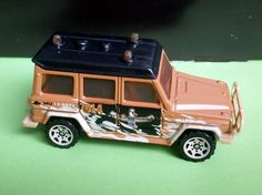 2005 Matchbox Mercedes-Benz 280 GE (Off Road 5 Pack)
