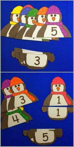 Asociar números iguales.