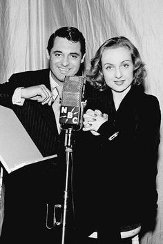 Carole Lombard and Cary Grant in 1939