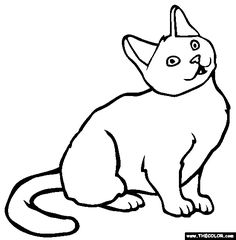 find this pin and more on cat lady hood by gypsyshrew free cats coloring pages