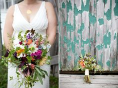 wildflower bouquet // photo by Stacey Hedman