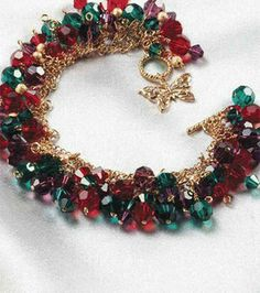 Holiday Cheer Bracelet : Jewelry & Bead Projects :  Shop | Joann.com