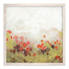 """""""Cosmos Garden"""" - Art Print by Lorent and Leif in beautiful frame options and a variety of sizes."""