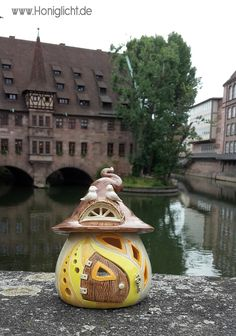 When I travel I always take at least one Fairyhouse with me 😅😊 Hobbies For Couples, Hobbies For Women, Hobbies That Make Money, Piercings, Nuremberg Germany, Pottery Wheel, Fairy Houses, Teaching Art, Clay Art