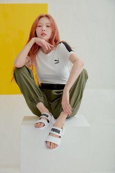"""Hyuna for puma / 190419 "" Triple H, Sporty Chic, Wonder Girls Members, Hyuna Kim, E Dawn, Bebe Rexha, I Icon, What Is Tumblr, Mannequin"
