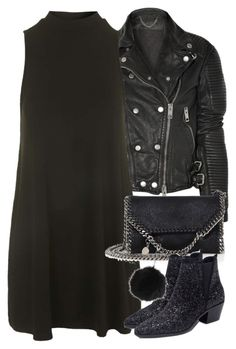 """""""Untitled #10821"""" by minimalmanhattan ❤ liked on Polyvore featuring Burberry, Topshop, STELLA McCARTNEY and Zara"""