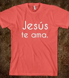 Spread the love with this awesome spanish t-shirt!