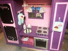 Pink N Purple Play Kitchen