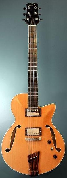 [ƒrettedchordophone 2015] Doug Harrison Custom GB --- https://www.pinterest.com/lardyfatboy/