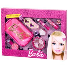 How fabulous is this Sleepver Cosmetic Set? You can pick it up at John Lewis! Toy Cars For Kids, Toys For Girls, Kids Toys, Makeup Kit For Kids, Kids Makeup, Barbie Doll Set, Barbie Toys, Little Girl Toys, Little Girls