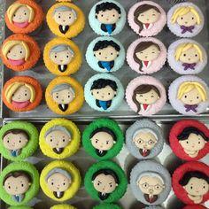 Twitter / vereentjoeng: Sherlock cupcakes for Sherlockian gathering.