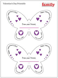 15 Valentine Card Printouts This Valentine's Day, last-minute shoppers will accept one beneath abode to turn. Papyrus, longtime purveyor of mid-price cards, gifts, and gift-wrapping Classroom Valentine Cards, Kinder Valentines, Valentine Crafts For Kids, Valentines Diy, Alex Craft, Valentine's Cards For Kids, Butterfly Crafts, Craft Free, Dean