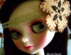 Diy: tiara fácil con flor de fieltro