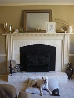 coeurs et mes quand on a une chemin e en brique rouge chemin e pinterest brique rouge. Black Bedroom Furniture Sets. Home Design Ideas