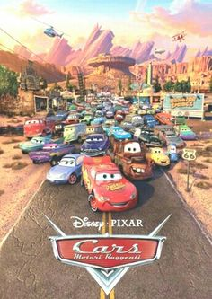 Disney Pixar Cars motori ruggenti