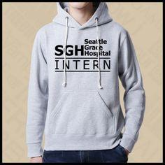 Greys Anatomy season 12 black fleece hoodie for men long sleeve plus size