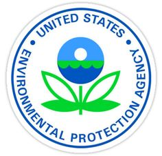 US Environmental Protection Agency Seal Sticker by ukedward