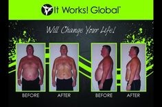 Men wrap too! Come on guys! Get your sexy back! Only takes 45 minutes! Why not, look what you have to lose! Look me up