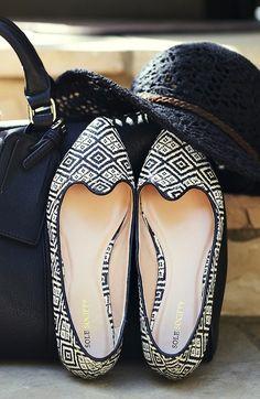 Woven Ballet Flats ♥ Love these!