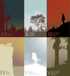 Awesome Series Of Star Wars Minimalist Posters