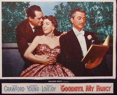 Goodbye, My Fancy (1951). Joan Crawford wearing Joseff of Hollywood jewelry.