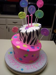 Image result for awesome birthday cakes for 11 year old girls