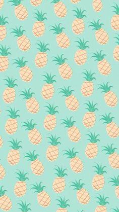 Fondo de pantalla de piñas / a wallpaper of pineapples