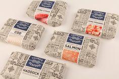 Productos del mar #packaging