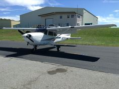 One of the Cessna 172SP's that I fly in as a student of WNC Aviation.