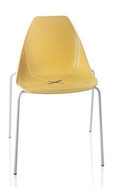 N°4 Sedia X FOUR con 4 gambe - ALMA DESIGN - arredogiardini.it Chair, Furniture, Design, Home Decor, Decoration Home, Room Decor, Home Furnishings, Stool
