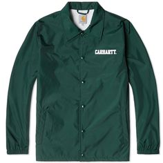 Carhartt College Coach Jacket (Parsley)