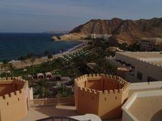 Bloggerin Marion Schröder vom Blog www.urlaubs-gefluester.de berichtet von ihrer Reise nach Oman. Hier ein Bild vom Shangri La in Maskat.