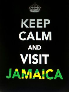 """Jamaica does not know STRESS ♥ """" no problem mon"""", no worries & no hurries; for real."""