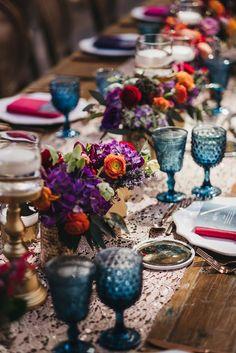 Cheap Wedding Table Centerpiece Ideas - Put the Ring on It Wedding Table Centerpieces, Wedding Decorations, Table Decorations, Centerpiece Ideas, Centerpiece Flowers, Centrepieces, Event Planning, Wedding Planning, Bright Wedding Colors