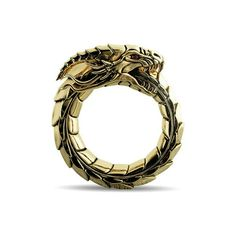 This holiday season give your badass man a ring that reflects his one of a kind personality. The Immorality ring by Proclamation Jewelry, shows his never ending quest for growth. #proclamationjewelry #mensjewelry #dragonring