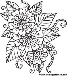 Flower Coloring Sheets Flower Coloring Page 41 Coloring Easy Coloring Pages Skylark And Flowers Coloring Page Free Printable Coloring Roses Flowers Coloring Page Free Printable Flower Coloring Sheets, Printable Flower Coloring Pages, Easy Coloring Pages, Free Adult Coloring Pages, Mandala Coloring Pages, Coloring Pages To Print, Coloring Books, Kids Coloring, Printables