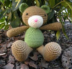 My Crochet Privacy ...: Miś Tabby / Tabby the Teddy Bear