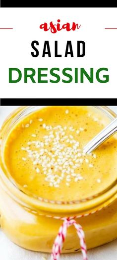 This homemade Asian Salad Dressing Recipe is easy to make, healthy and so delicious!  With rice vinegar, sesame oil, lime juice, garlic and ginger this sugar free recipe is a simple Asian Dressing with tons of flavor.  Give it a try and you may never use store-bought dressing again! Asian Dressing, No Sugar Foods, Salad Dressing Recipes, Dinner Salads, Sugar Free Recipes, Healthy Salad Recipes, Rice Vinegar, Dinner Recipes, Lime Juice