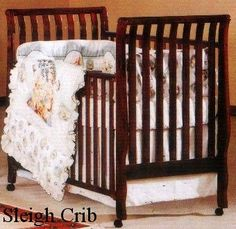 The cribs drop sides can malfunction, detach or otherwise fail, causing part of the drop side to fall out of position, creating a space into which an infant or toddler can roll and become wedged or entrapped, which can lead to strangulation or suffocation. A child can also fall out of the crib. Drop-side incidents can also occur due to incorrect assembly and with age-related wear and tear.