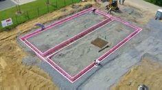 Sistema de formas para concreto em XPS da Rekord Holzmann
