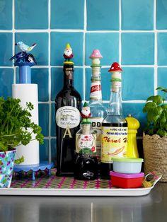 kitchen, Küche, Flaschen, bottles
