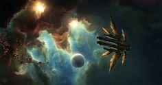 concept ships: Jupiter Ascending concept art by Jonas De Ro